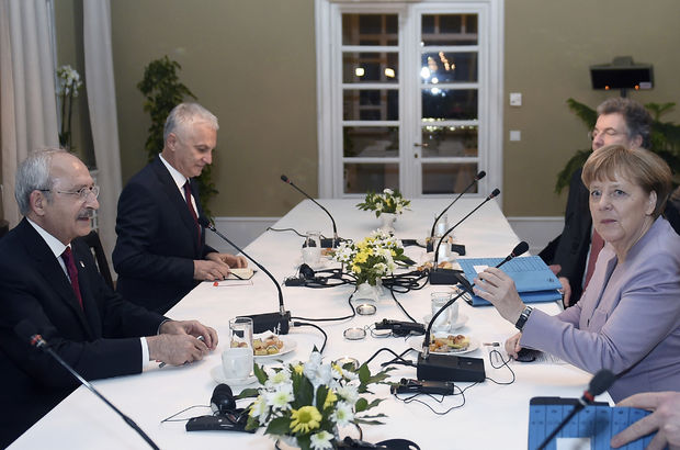 Angela Merkel, Kemal Kılıçdaroğlu