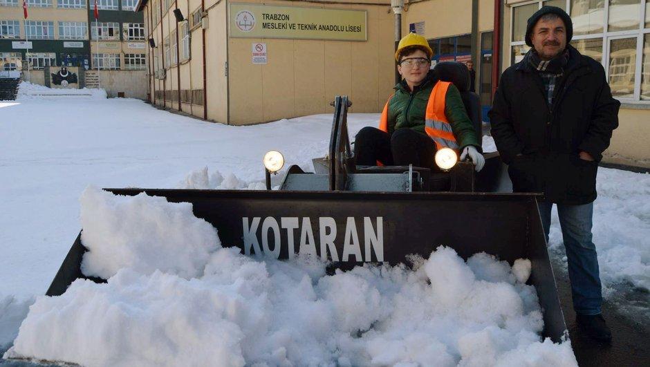 Kotaran , kepçe aracı