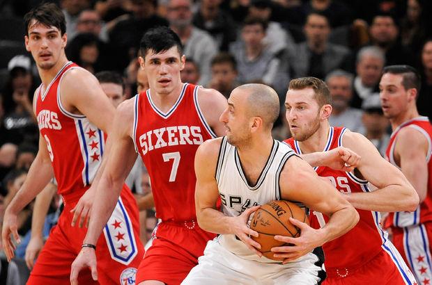 San Antonio Spurs - Philadelphia 76ers