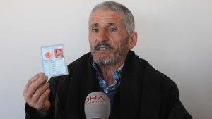 Gaziantep'te bir adamın nüfus cüzdanında doğum yeri hanesinde yok yazıyor