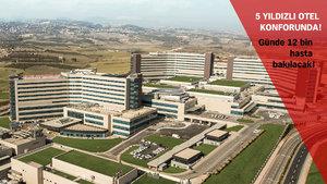 Türkiye'nin ilk şehir hastanesi Mersin Şehir Hastanesi bugün açılıyor!