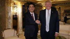 Japonya Başbakanı Abe, Trump'a yatırım teklifi sunacak