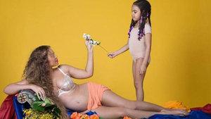 Beyonce'dan yeni hamilelik pozları