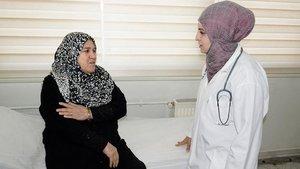 Suriyeli doktorlarda beyaz önlük heyecanı