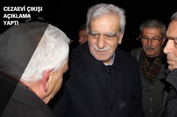 Ahmet Türk'ün tahliyesine karar verildi
