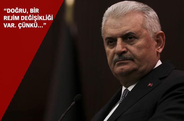 Başbakan'dan rejim değişikliği iddialarına esprili yanıt