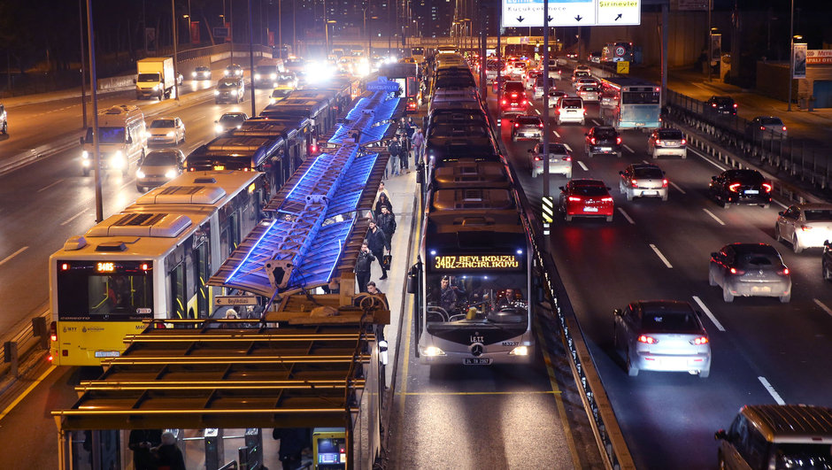 İstanbul Metrobüs Arıza