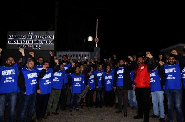 İzmir grev