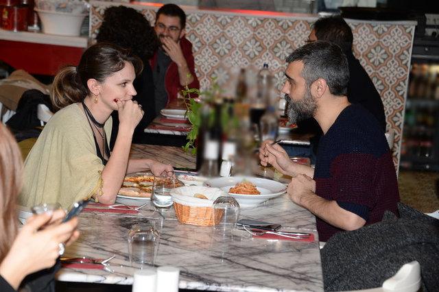 Caner Cindoruk-Farah Zeynep Abdullah, gösteri öncesi baş başa yemek yedi