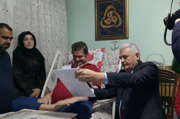 Başbakan Yıldırım'dan ALS hastasına ziyaret