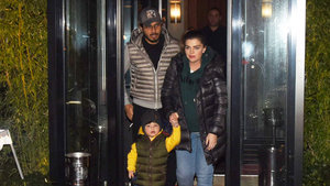Pelin Karahan, eşi Bedri Güntay ve oğluyla  aile yemeği yedi