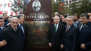İzmir'de Fethi Sekin Parkı açıldı
