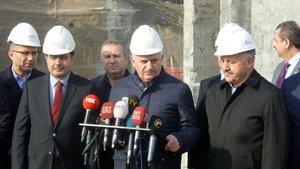 Başbakan Yıldırım Çamlıca TV-Radyo kulesini ziyaret etti