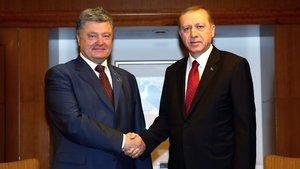 Poroşenko'dan, Erdoğan'a tebrik mesajı