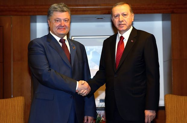 Recep Tayyip Erdoğan Ukrayna Türkiye Petro Poroşenko