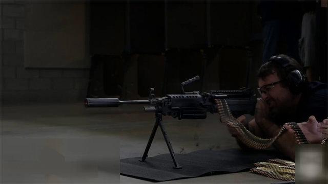 700 seri atış sonrası silaha takılan susturucunun hali!