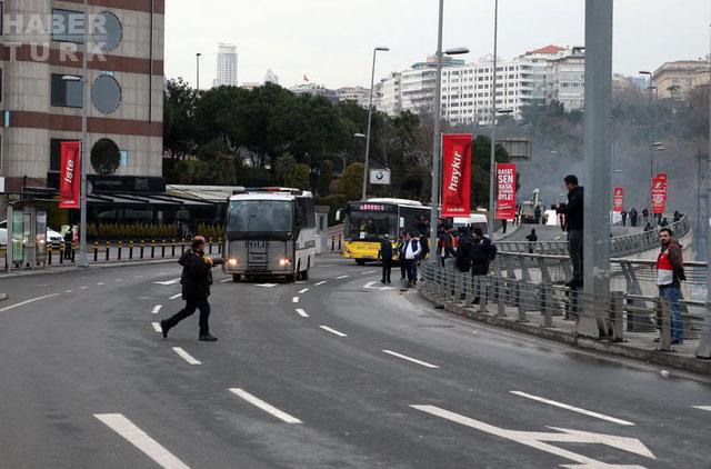 Fenerbahçe taraftarı Arena'ya böyle geldi