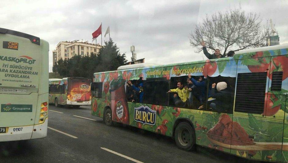 Kadıköy Fenerbahçe derbi Beşiktaş Ziraat Türkiye Kupası