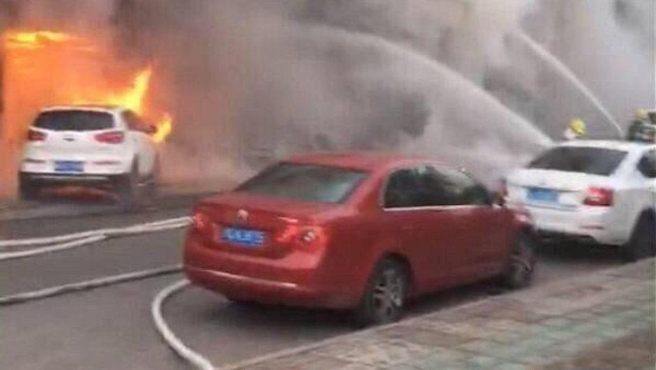 Çin masaj salonu yangın