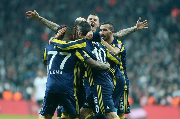 Beşiktaş - Fenerbahçe: 0-1 MAÇ ÖZETİ