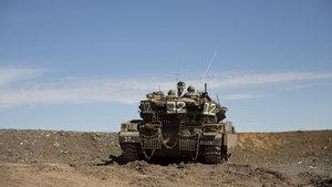 İsrail'den Gazze'ye tank saldırısı!