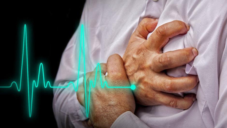Kalp krizi iş kazası