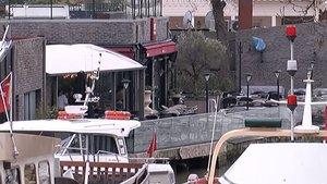 Beykoz'daki restoran saldırganı adliyede