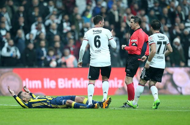 Dusko Tosic Beşiktaş kırmızı kart Fenerbahçe