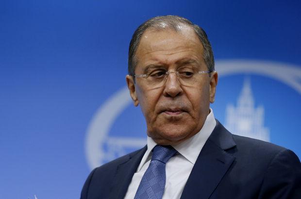 Rusya Lavrov Suriye