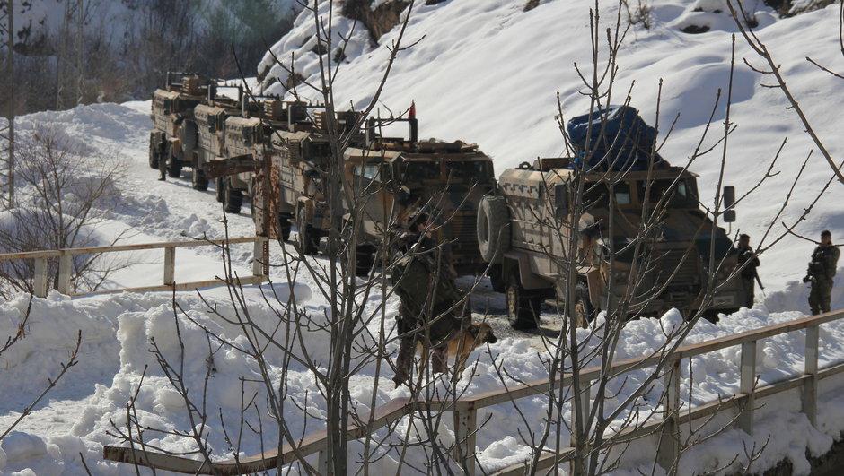 Hakkari Şırnak PKK