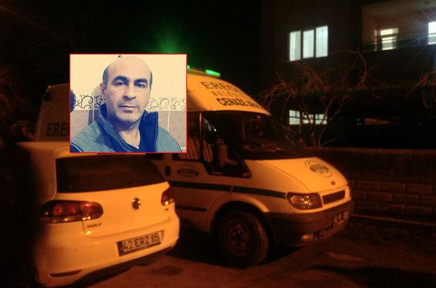 Konya'da yardımlaşma vakfı müdürü öldürüldü