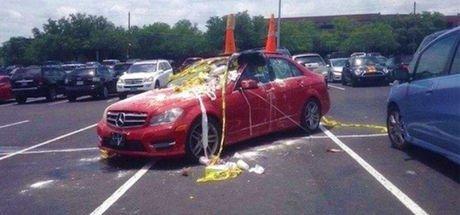 Hatalı park yapanlara sıra dışı ceza!