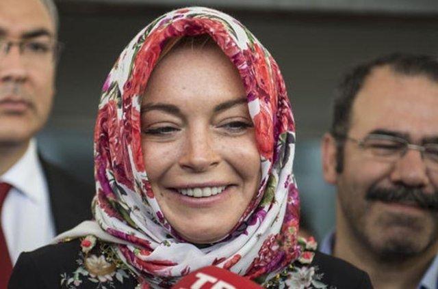 Lindsay Lohan'dan İslamiyet açıklaması