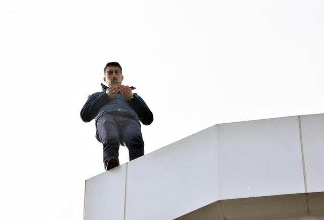 Konya'da intihar girişimi