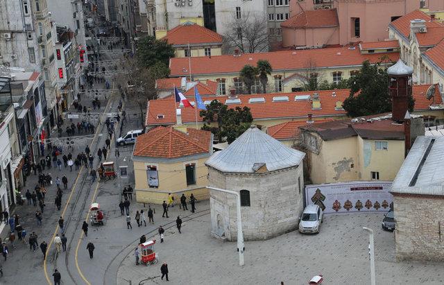 Proje ortaya çıktı! İşte cami yapılınca Taksim'in görünüşü