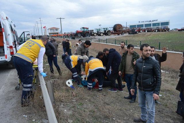 Kırklareli'nde zincirleme trafik kazası: 23 yaralı