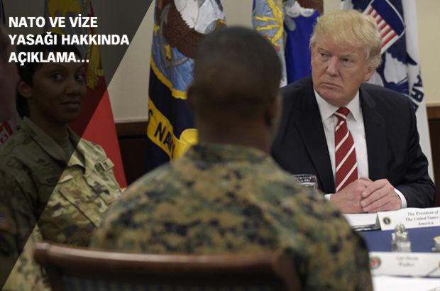 Donald Trump: Amerika ve müttefikleri sizi yenecek