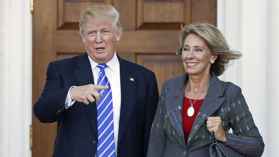 Trump'ın Eğitim Bakanı adayına karşı Demokratlar 24 saat konuşacak