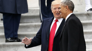 Trump: Obama beni seviyor