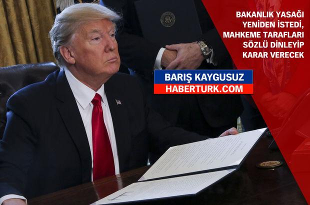 ABD, Trump'ın yasağına karşı birleşti!