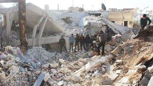 İdlib'de hava saldırısı: 21 sivil öldü