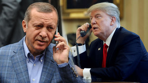 Erdoğan ile Trump arasında ilk görüşme bu gece!