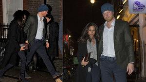 Prens Harry ile Meghan Markle el ele görüntülendi
