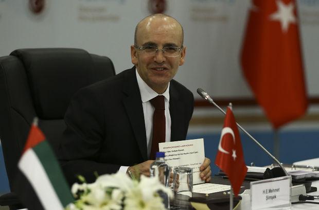 Mehmet Şimşek BAE Türkiye