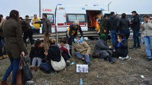 Kırklareli'nde zincirleme trafik kazası