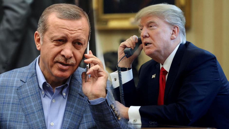 Erdoğan ile Trump arasında ilk görüşme gerçekleşti
