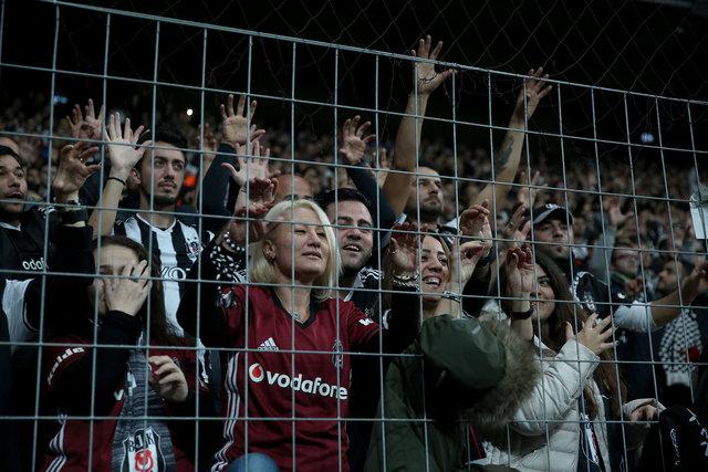 Derbiye bilet bulamadılar, gece tırmanıp Vodafone Arena'ya girdiler