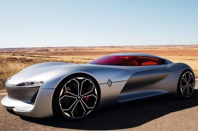 Dünyanın 'En Güzel Konsept Otomobili' Renault TREZOR seçildi