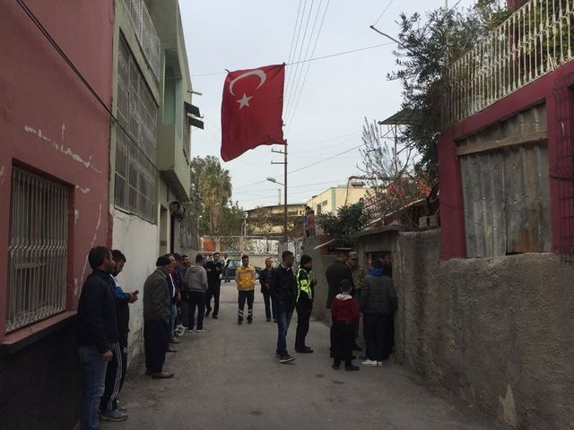 Adana'ya El Bab şehidinin ateşi düştü