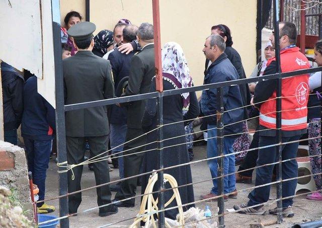 El Bab şehidi Yahya Efiloğlu'nun evinde yas var